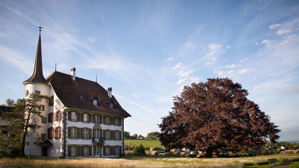 2018 findet der klangantrisch-Familientag erstmals im Schlossgarten Riggisberg statt.